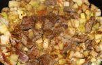 Тушеная свинина с кабачками, рецепт с фото