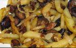Жаркое с грибами и картошкой рецепт с фото