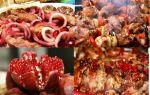Шашлык из свинины в гранатовом соке — рецепт гранатового маринада для шашлыка