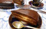 Пражский торт со сгущенкой, классический рецепт с фото