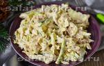 Салат с консервированным тунцом и пекинской капустой рецепт с фото
