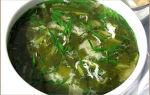 Холодный суп из щавеля, рецепт с фото